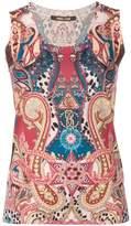 Roberto Cavalli paisley print vest