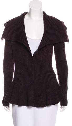 Alexander McQueen Wool Knit Cardigan