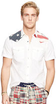 Denim & Supply Ralph Lauren Flag Cotton Western Shirt