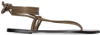 ATP ATELIER Alezio thong-strap sandals