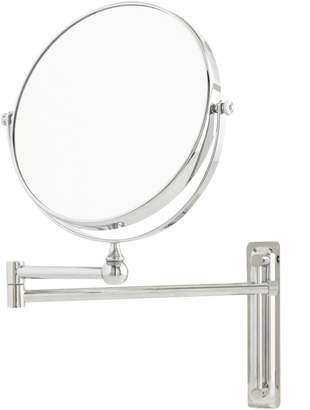 Upper Canada Soap Adjustable Round Mounted Mirror