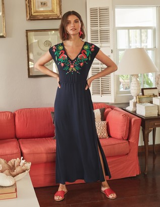 Marcia Embroidered Maxi Dress