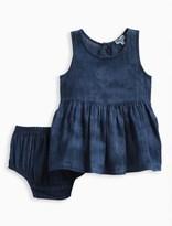Splendid Baby Girl Tie Dye with Lurex Stripe Dress