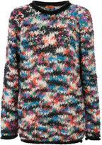 Missoni chunky jumper - women - Polyamide/Mohair/Wool - 38