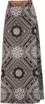 Izabel London Patterned Maxi Skirt