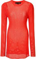 Proenza Schouler mesh jumper - women - Polyester/Viscose - S