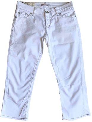 Liu Jo Liu.jo White Cotton Jeans for Women