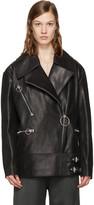 Acne Studios Black Morely Biker Jacket