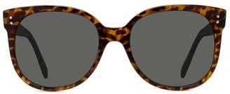 Celine 58MM Round Cat Eye Sunglasses