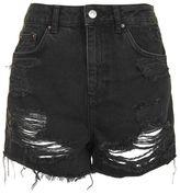 Topshop Moto longline mom shorts