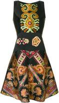 Etro paisley flared dress