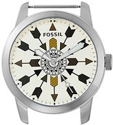 Fossil Men's Quartz Stainless Steel Automatic Watch, Color:Clear (Model: C221037)