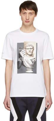 Neil Barrett White iClaudius T-Shirt