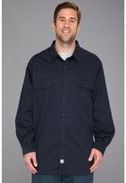 Carhartt Big & Tall Twill L/S Work Shirt