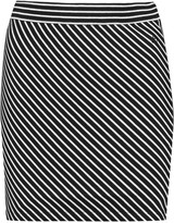 Rag & Bone Mod striped stretch-jersey mini skirt