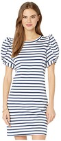 Lilly Pulitzer Anabella Dress (High Tide Navy Perfect Pair Stripe) Women's Dress