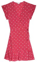 Rails Leanne Raspberry Dot Dress - M