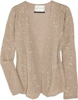 DAY Birger et Mikkelsen Beaded silk-georgette jacket