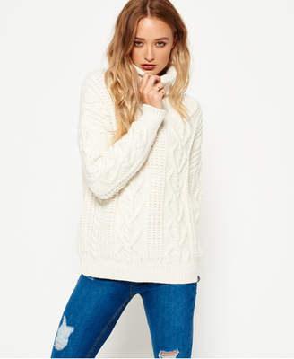Superdry Esmay Cable Knit Jumper