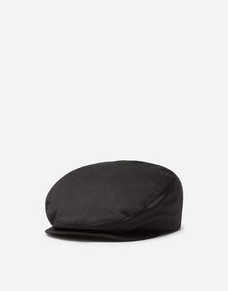 Dolce & Gabbana Gabardine Flat Cap