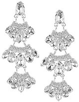 Cezanne Rhinestone Wing Chandelier Earrings