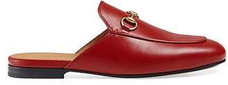 Gucci Women's Leather Slippers - Red