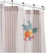 B. Smith Park Tufted Bouquet 72-Inch by 72-Inch Shower Curtain