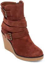 BCBGeneration Finland Leather Wedge Boots