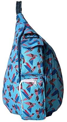 Kavu Mini Rope Bag (Paper Flock) Bags