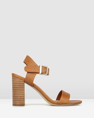 betts Kimmy Block Heel Sandals