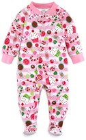 Sara's Prints Infant Girls' Visions of Sugarplums Footie - Sizes 6-24 Months