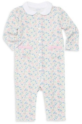 Ralph Lauren Baby Girl's Floral Print Cotton Coverall