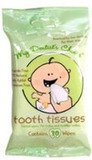 My Dentist's Choice Dental Wipes Tooth Tissues - 30 Wipes [Health and Beauty]