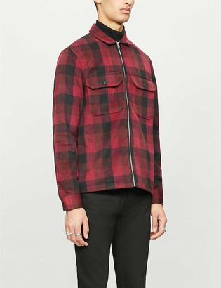 AllSaints Medora cotton and linen-blend shirt