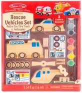 Melissa & Doug Kids' Rescue Vehicles Set