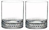 Nambe Braided Double Old-Fashioned Glasses - Set of 2