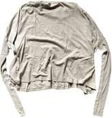 Rick Owens Lilies Grey Top for Women