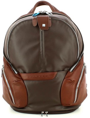 Piquadro Brown Backpack