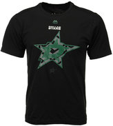 Majestic Men's Dallas Stars Solid Win Synthetic T-Shirt