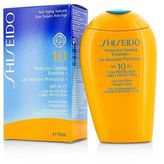 Shiseido NEW Protective Tanning Emulsion N SPF 10 (For Face & Body) 150ml Womens