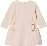 Chloé Pale Pink Milano Dress with Button Detail