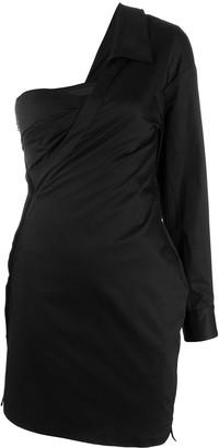 RtA One-Shoulder Cocktail Dress