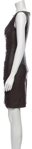 Thumbnail for your product : Jitrois Scoop Neck Mini Dress Grey