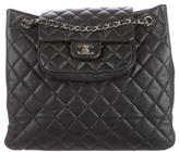 Chanel Quilted Large Shopping Tote