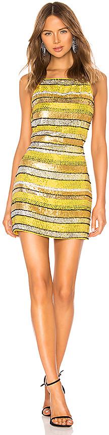 X by NBD Sunny Embellished Mini Dress