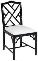 Selamat Simona Bamboo Side Chair - Black