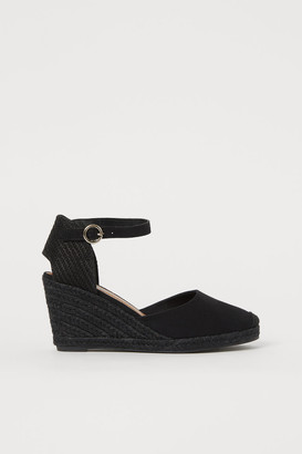 H&M Wedge-heeled espadrilles