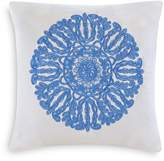 "Echo Ravi Embroidered Decorative Pillow, 18"" x 18"""