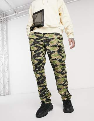 HUF Bdu Easy Pant in camo