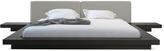 Modloft Worth Platform Bed with Matching Nightstands